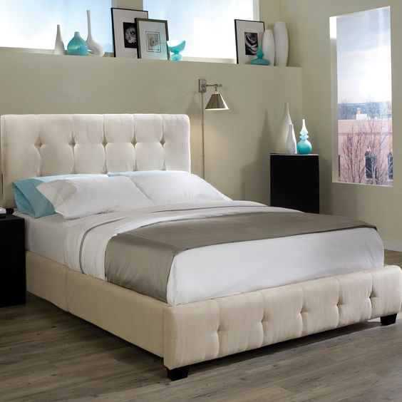Standard Furniture Madison Square Upholstered Panel Bed