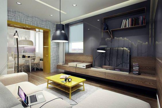 Décoration séjour: Osez la couleur jaune   Salon   Pinterest   Salons