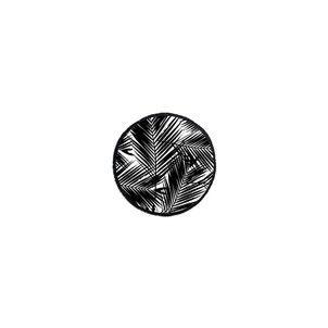 Serviette ronde L'éphémère LES ANTILLAISES - Serviette de plage