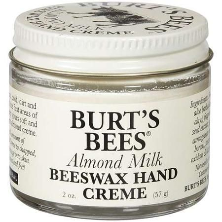 burt's bees almond milk beeswax hand creme - Google Search: