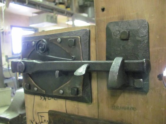 Thumb Latch Beautiful Forged Metal Architectural