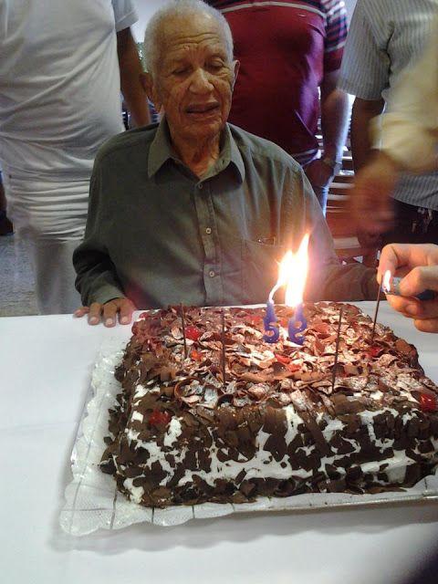 Canadauence TV: Parabéns! Pastor José Ezequiel da Silva 100 anos d...