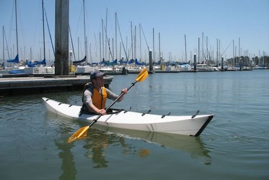 Origami Kayak Unfolds & Is Ready-To-Use In Minutes [Video] Now _this_ would've been the perfect Father's Day gift...