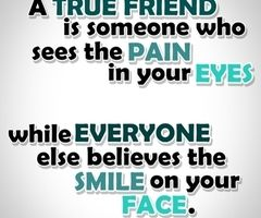 And that friend is worth keeping:)