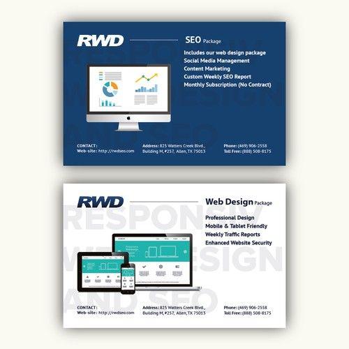 Design A Postcard For A Texas Web Design Web Design Web Design Packages Branding Design Logo