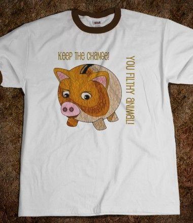 Angry Piggy Funny Design
