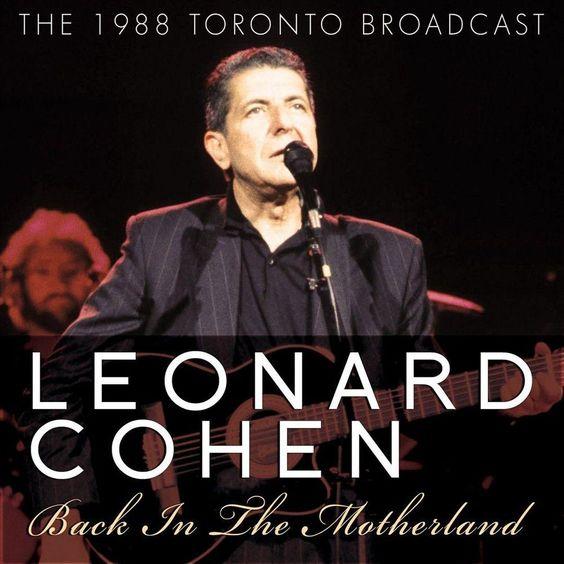 Leonard Cohen - Back in the Motherland (CD)