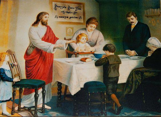 Modlitwa przed posiłkiem – I | Jezus Chrystus
