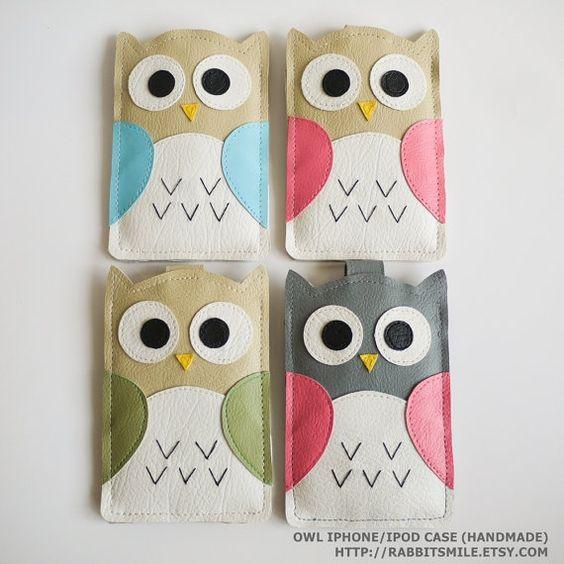 Kawaii Owl iPhone Covers memorable-gifts