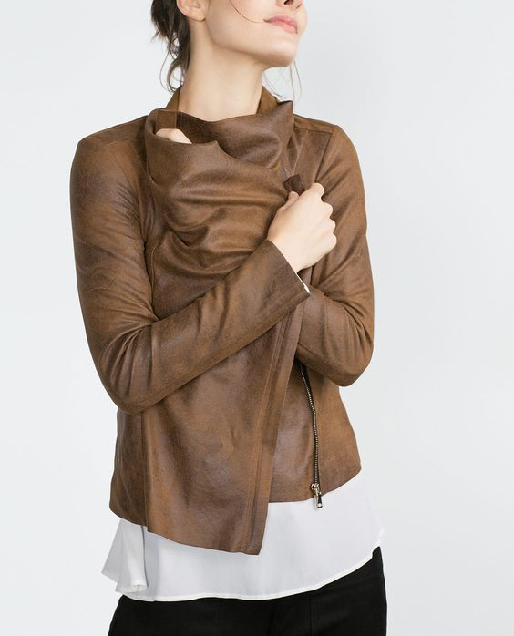 faux suede overshirtcollectionwomannew in zara united