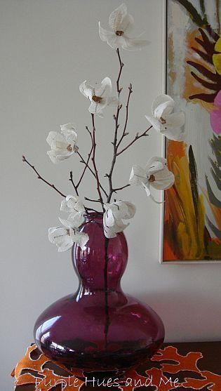 DIY Burlap Magnolia Flowers!