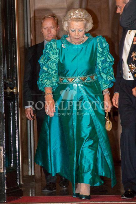 RoyalPhoto - Koning en Koningin bieden Corps Diplomatique diner aan