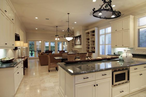 kitchen and family room layouts - Google Search | Dream Kitchen | Pinterest  | Kitchens, Room and Remodeling ideas
