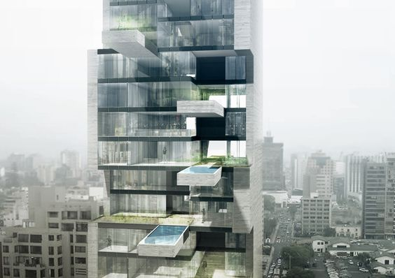 Proposed Project: Sky Condos | Location: Lima, Peru | Architect: DCPP arquitectos (*from Mexico City)