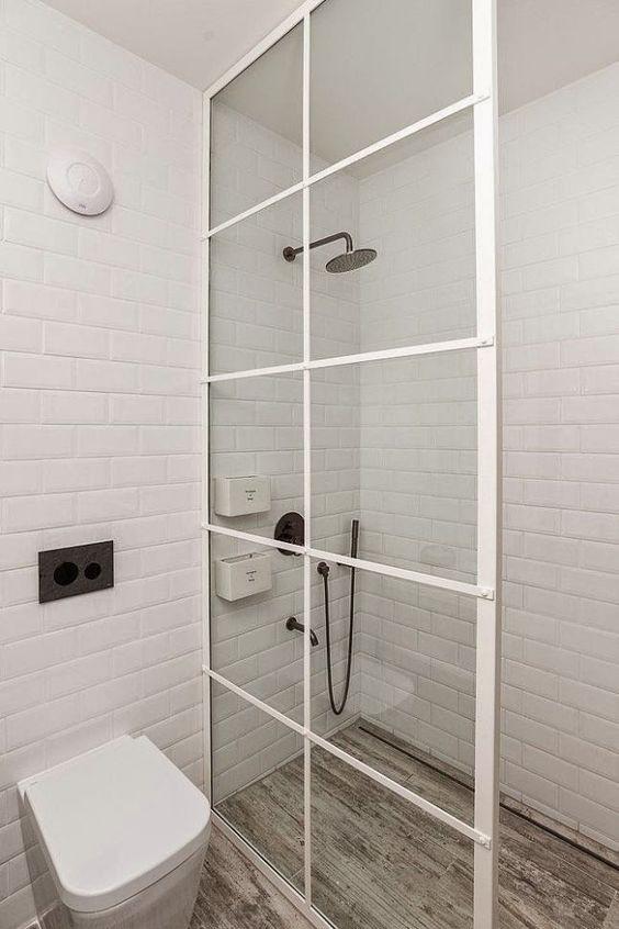 azulejo de metro para banheiro