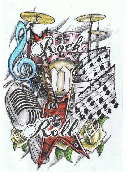 27++ Tattoo rock n roll ideas