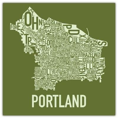 "Ork Posters ""Portland"""