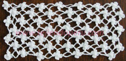 Tutorial: punto red de flores margaritas tejido a crochet (crochet daisy flower ned tutorial)!