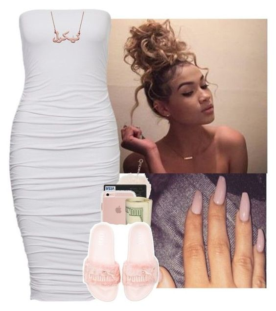 """""""Poison    Bell Biv DeVoe"""" by heavensincere ❤ liked on Polyvore featuring Puma"""