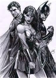 Resultado de imagen para dibujos a lapiz de SUPERMAN