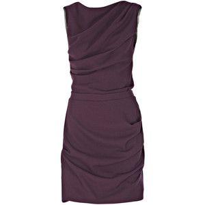 roksanda ilincic dress in burgundy from matchesfashion.com via polyvore