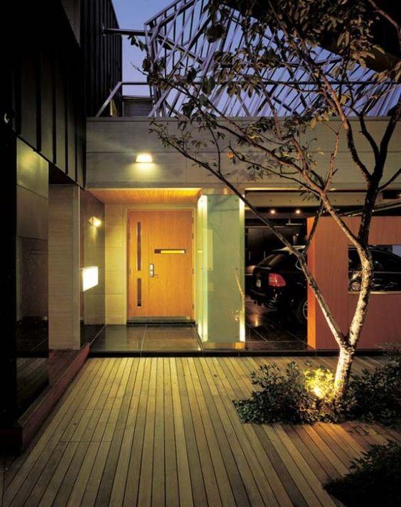 Modern korean house garage korean beauty pinterest house