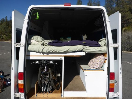 They Turned A Van And Turned It Into An Awesome Camper