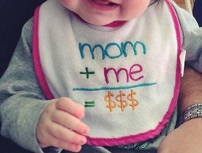Mom+me=$$$