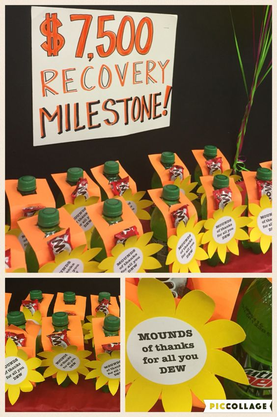 Mounds of thanks for all you do