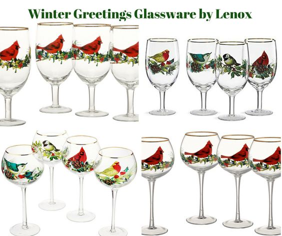 Winter Greetings Glassware by Lenox