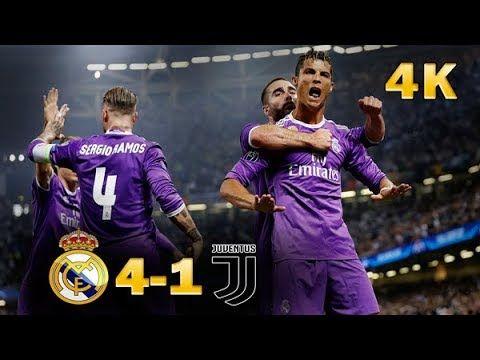 Real Madrid Vs Juventus 4 1 Final 4k Highlights Youtube 2020