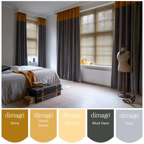 Slaapkamer kleuren geel meer dan idee n over meisjes slaapkamer kleuren op pinterest leen - Kleur verf moderne woonkamer ...