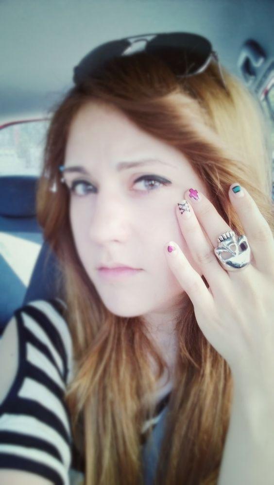 #nailart #nailarts #rabbit #blue #yellow #blue #green #pink #tirnak #tirnaksanati #tirnaksusleme #tavsan #mavi #yesil #sari #pembe #ask #love #golden#skull #inek #cow