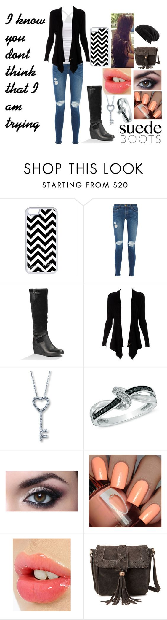 """""""Fall For You"""" by beargirl50 ❤ liked on Polyvore featuring CellPowerCases, Current/Elliott, American Eagle Outfitters, Lipsy, Charlotte Tilbury and Forever 21"""
