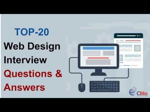 Top 20 Web Design Interview Questions Answers Web Designing Tutorial Webdesignquestions