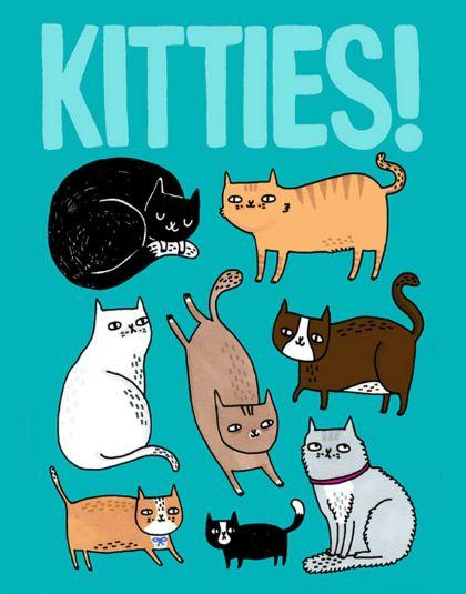 Kitties! (Gemma Correll)