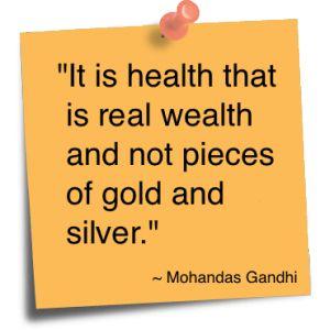 Gandhi quote.......
