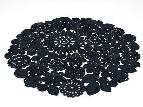 Paola Lenti Crochet Round rug