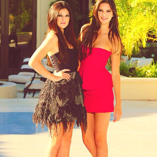 Kylie Jenner & Kendall Jenner  i wanna be them..