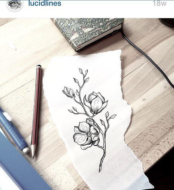 Magnolia tat