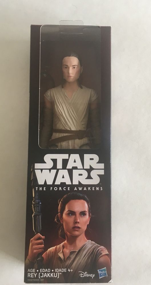 Factory Sealed Star Wars x Barbie Rey Collectors Doll Figure Brand New
