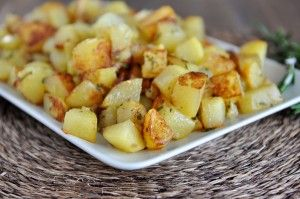 Golden Skillet Potatoes {And Let's Talk Food Allergies for a Second…}