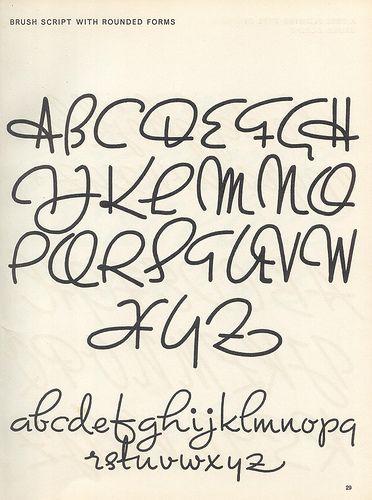 Script lettering (1957) p23