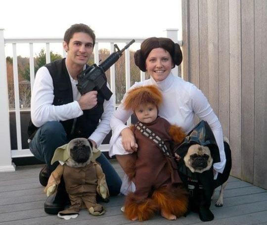 Family Star Wars Halloween Costume!