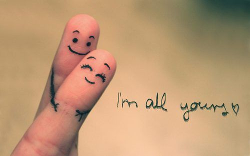 I´m all yours
