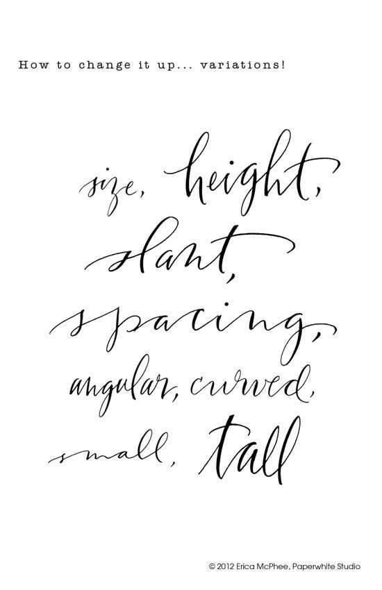 Calligraphy hand lettering and on pinterest