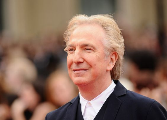 """""""When I'm 80 years old and sitting in my rocking chair, I'll be reading Harry Potter. And my family will say to me, """"After all this time?"""" And I will say, """"Always."""" - Alan Rickman."""