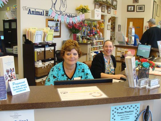 Annie and Karen are 2 of our Client Care Coordinators that do their bests to help our clients and their pets.