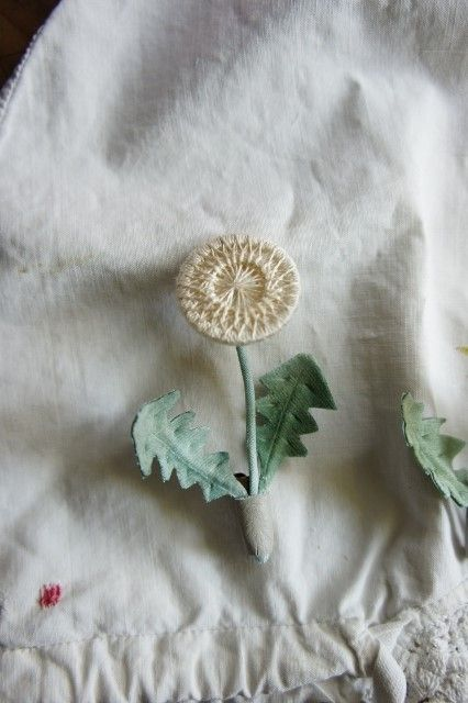 Dorset Button becomes a dandelion!:
