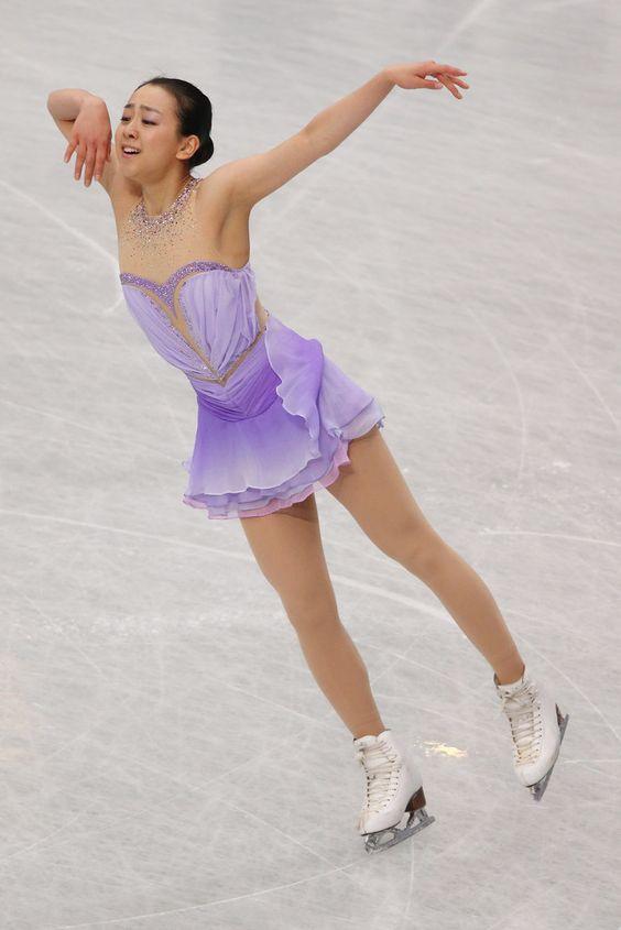 Mao Asada in ISU World Figure Skating Championships: Day 2